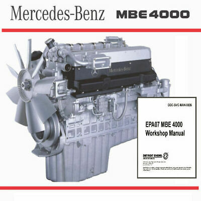 Mbe 4000 Engine parts manual