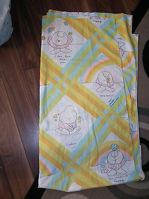 Vintage 70s/80s ZIGGY Twin Flat Bed Sheet