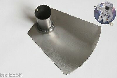 Titanium welded hoe 160x150x2, without handle