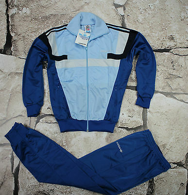 _ ADIDAS _ NEW VINTAGE TRACKSUIT _ 1980's _size XS _ D164 _  ULTRA RARE _