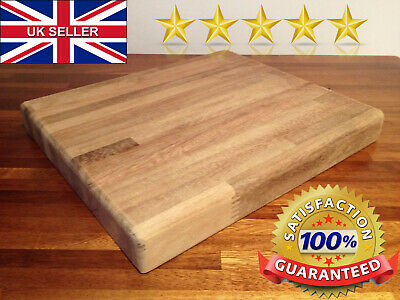 "✅ Cutting Chopping Board Teak XL Chef Antimicrobial Kitchen PRO Gift 16""x12"" ✅"