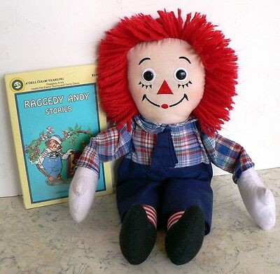 Raggedy Andy Stories Book & Doll