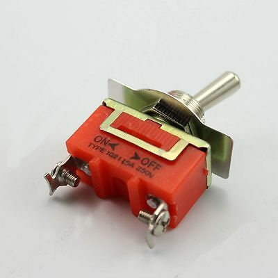 Toggle ON/OFF Dash Duty TYPE 1021 Hot Industrial Switch AC 15A 250V Rocker