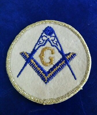 Vintage Masonic Logo Freemason Patch