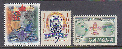 Canada, Scouting Boy Scouts, Mnh Stamps, Lot - 377