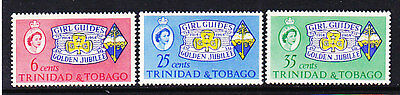 Trinidad & Tobago, Scouting, Girl Guides - Scouts, Mnh Stamps, Lot - 14