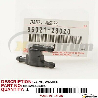 TOYOTA LEXUS SCION ORIGINAL OEM CHECK VALVE 85321-28020 -CAMRY/COROLLA/tC/IS250