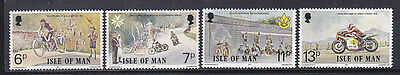 Isle Of Man, Racing Motorcycles, Mnh Stamps Lot - 31