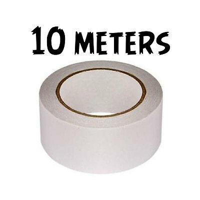 48MM x 10M TAPE DOUBLE SIDED WATERPROOF NUMBER PLATE STICKY STRONG ADHESIVE
