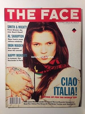 Kate Moss Very 1St Magazine Cover The Face   / Magazine Ref Fc