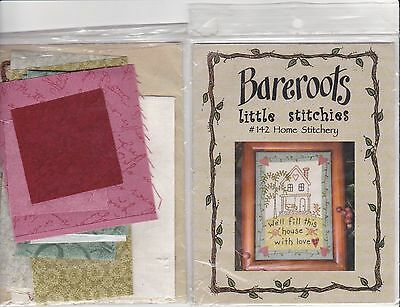 Mini Quilt  Patchwork and Stitchery Kit From Bareroots