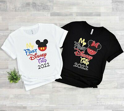 2019 DISNEY FAMILY VACATION my first trip T-SHIRTS ALL SIZES MINNIE,MICKEY body