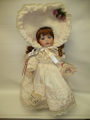"""17"""" SFBJ 247 French Repro All Bisque by Julie 1988 Ball Jointed Body"""