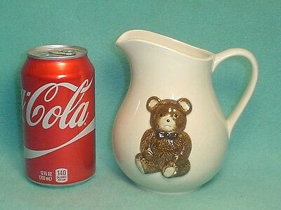Vintage Hand Crafted Otagiri Bear Pitcher Made In Japan