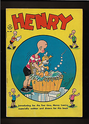 "1946 1st ISSUE ""  HENRY  "" DELL   COMIC BOOK COMPLETE & ORIGINAL"