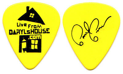 HALL & OATES Guitar Pick : Live From Daryl's House - Paul Pesco and tour yellow