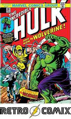 Marvel True Believers Wolverine Vs Hulk #1 Reprint New/unread Bagged & Boarded