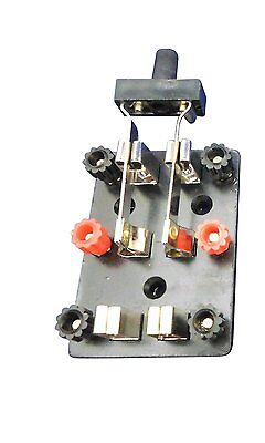 Ajax Scientific Double Pole Double Throw Electrical Electric Wire Knife Switch