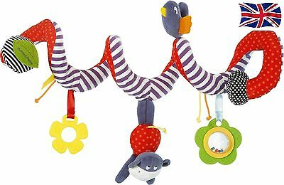 Mama & Papa Infant Baby Multi-function Kid Crib Bed Pram Animal Hanging Toy