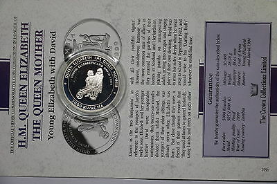Zambia 5000 Kwacha 1999 Silver Proof Queen Mother With Coa Cxqueen70 A60