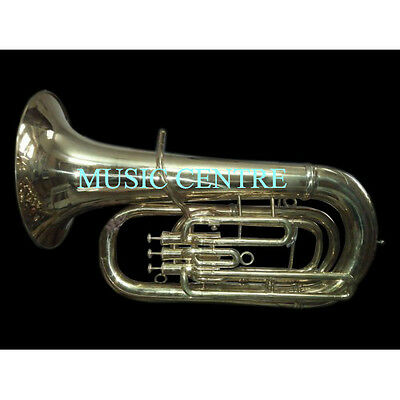 Tuba Eb Flat Largest Musical Instrument Of Brass Band In Pure Brass  Polish