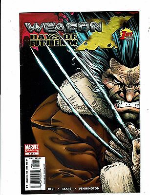 Lot of 4 Weapon X Days of Future Now Marvel Comic Books #1 2 4 5 BH51