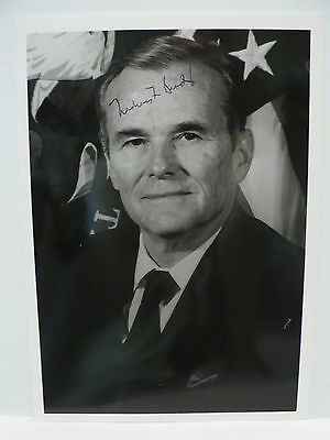 Nicholas F. Brady Bush Treasury Secretary  * Original Signed  * 5'' X 7''