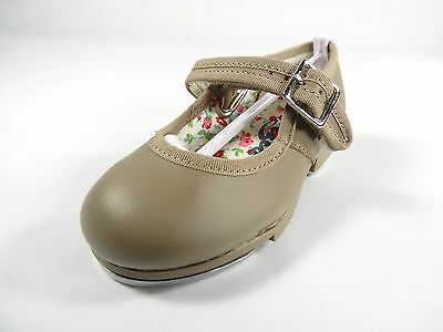 Capezio Mary Jane Girls Tap Shoes Style 3800T Child Size 7 M D7