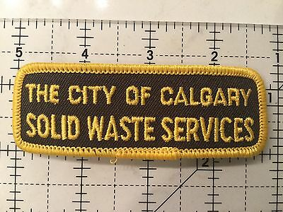 Canada Alberta Patch City Of Calgary Solid Waste Service