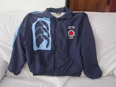Newcastle Rugby Union Referee Ccc Zip Up Jacket Size Medium