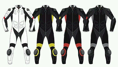 Daine Motorbike Motorcycle Leather Suit Monster Motorbike Leather Suit