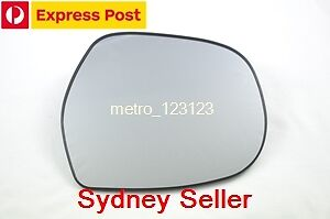 Right Driver Side Toyota Prado 03-09 120 Series Mirror Glass With Back Plate
