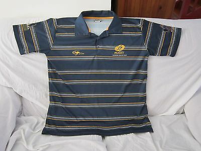 Act Junior Rugby Wallabies Classic Sports Polo Shirt Size Xl