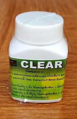 Clear Medicine For FlowerHorn Fish for Treat white pooh and inflammatory bowel