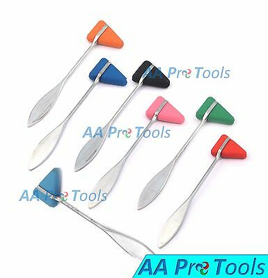 AA Pro: Set Of 7 Taylor Percussion Hammer Colors Medical Surgical Instruments