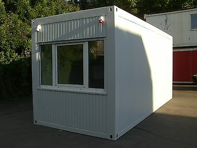 Bürocontainer 6m x 2,5m Wohncontainer Baucontainer Container Bau