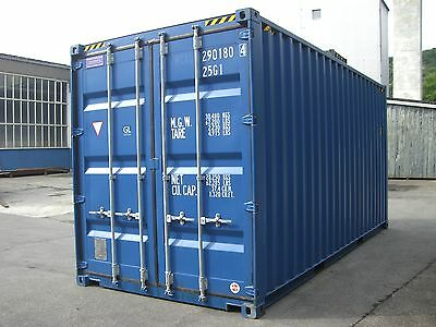 Seecontainer 20ft HC High Cube Mietcontainer Lagercontainer Container Bau