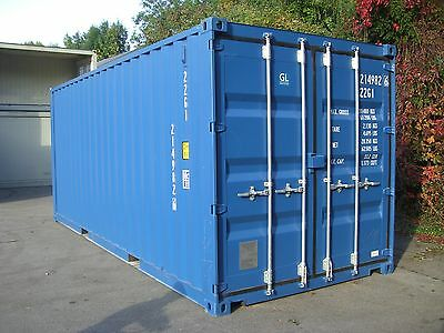 Seecontainer Lagercontainer 20ft Mietcontainer Materialcontainer Container Bau