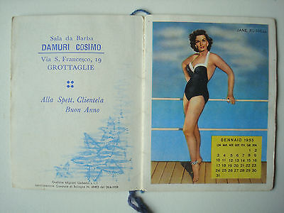 Calendrier 1955 Stelle Marine. - Pin-up.
