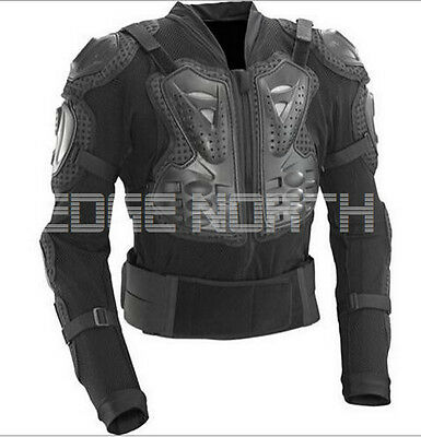 New Motocross Dirt Bike Body Armour Jacket Chest Shoulder Motorcycle Protection