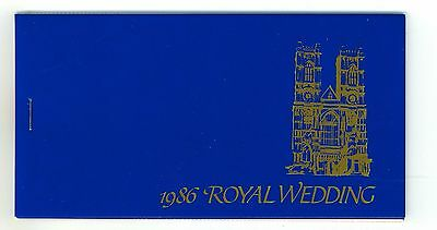 1986 Royal Wedding Of Prince Andrew Stamp Booklet St Vincent