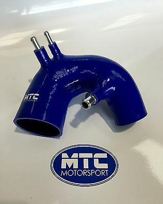 Mtc Motorsport Fiat 500 Abarth T-Jet Silicone Intake Hose Blue