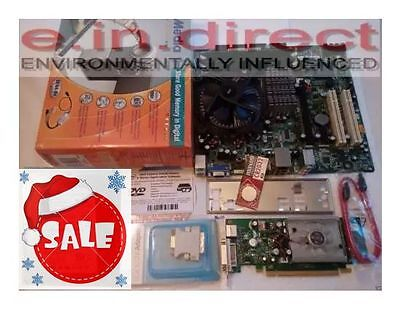 INTEL E6550 CPU 2GB RAM DG31PR MOBO IOP 256M ASUS CARD EZMaker JOB LOT