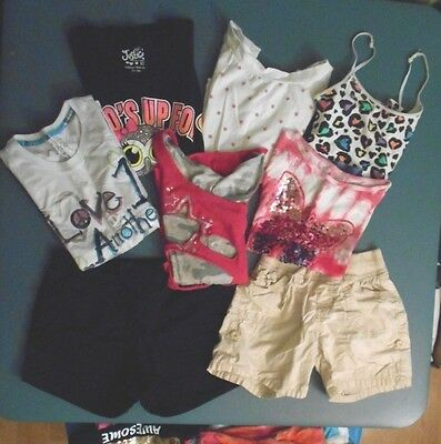 JUSTICE Sz 10 12 Girls Clothing Lot