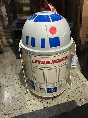 VINTAGE STAR WARS R2D2 TOY BOX TOTER CHEST 1983 Gen Con Indianapolis