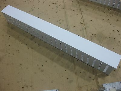 NEW Pandit wire duct w/ cover channel G2X3WH6 white cable management tray 24""