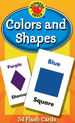 Child Flash Card Kids Educational Pre-School Learning Toy Gift Colours And Shape