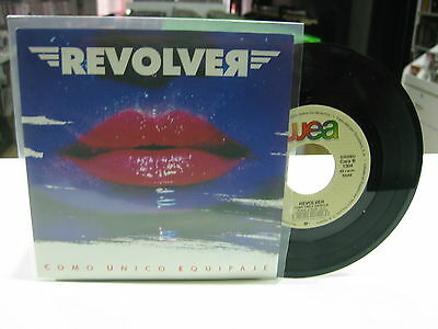 "Revolver 7"" Single Spanish Como Unico Equipaje 1990"