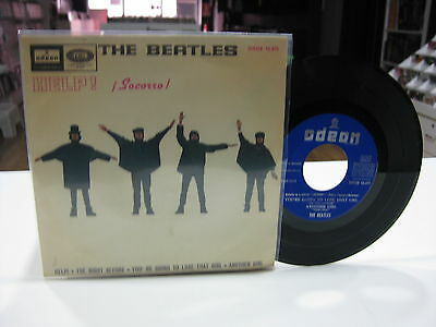 "The Beatles 7"" Ep Help + 3. 1965"