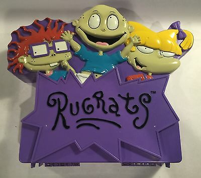 1997 Nickelodeon Rugrats Stamp Activity Case with 10 Stamps
